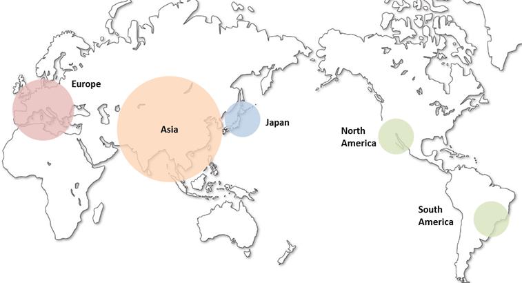 TAMURA CORPORATION Global Network |タムラ製作所